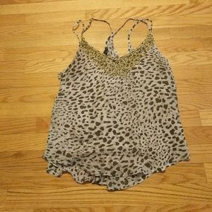 Cheetah blouse!
